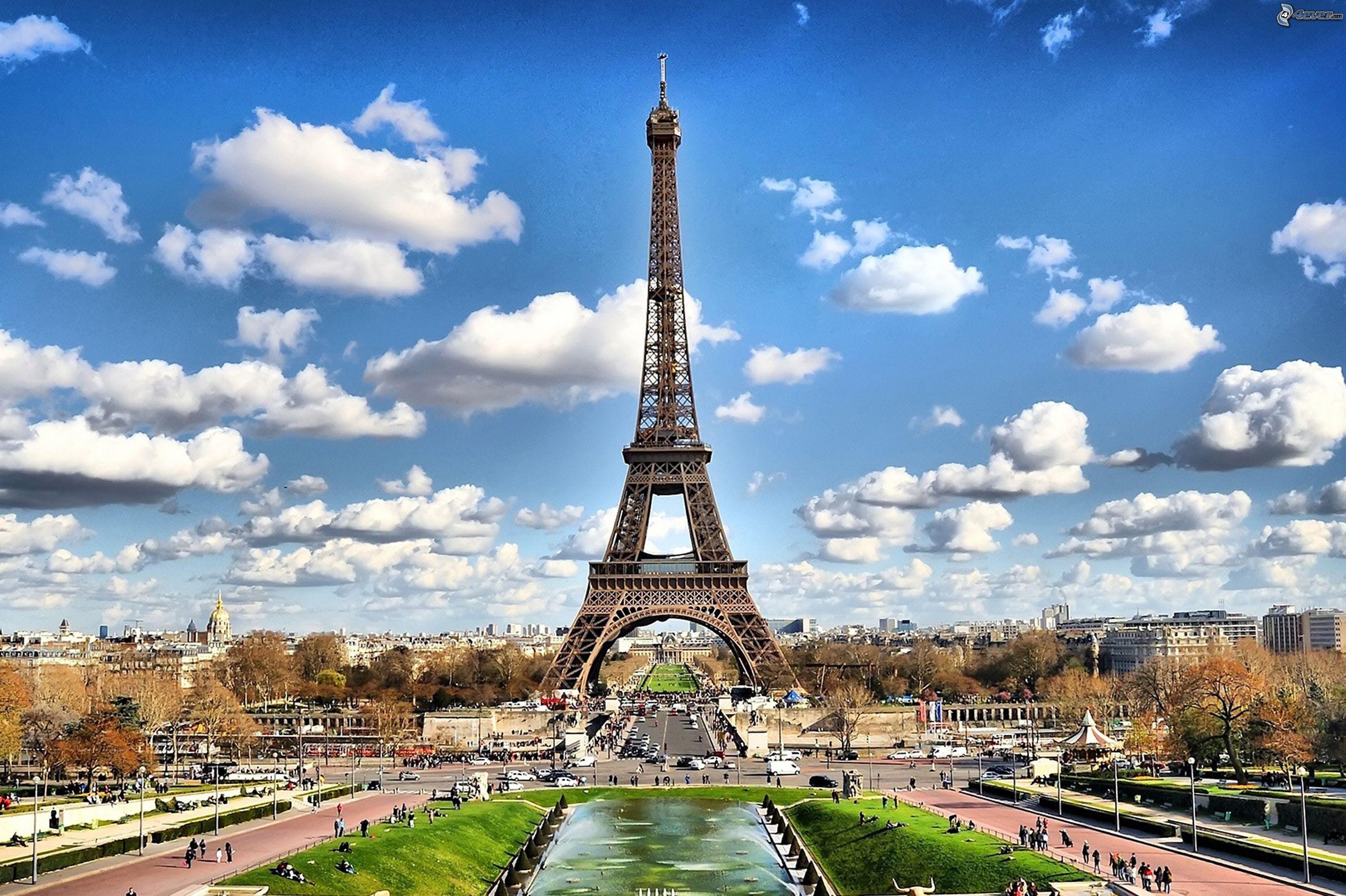 Gratis lagerfoto af arkitektur, bygninger, bylandskab, Eiffeltårnet