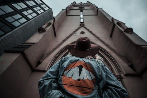 Person Looking Upward