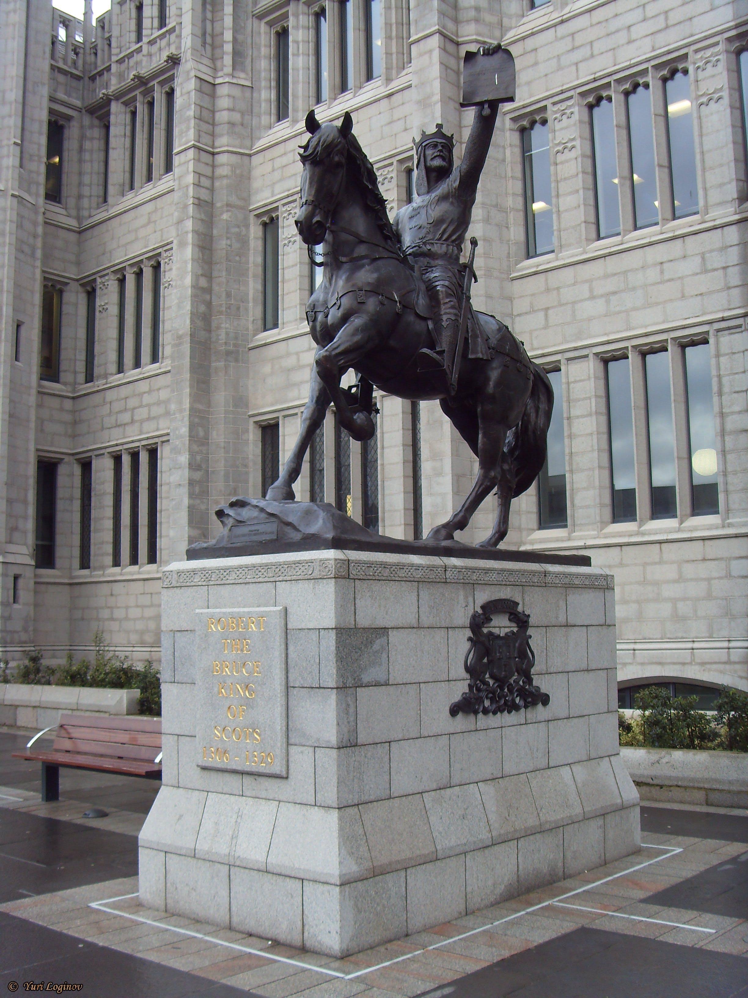 Free stock photo of Aberdeen, Aberdeen City Council, Robert the Bruce, scotland