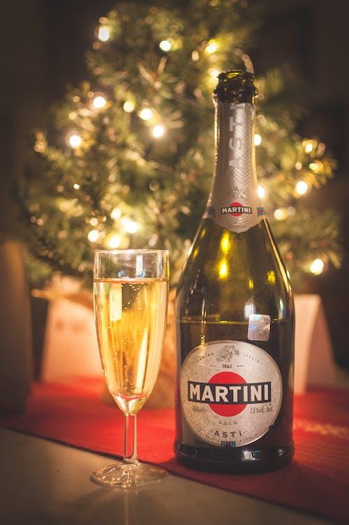 Imagine de stoc gratuită din Anul Nou, arbore, asti, băutură