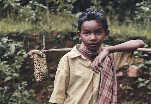 Free stock photo of asia, boy, child, dirty