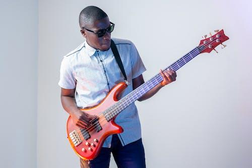 Free stock photo of bass, black, ghana, guitar