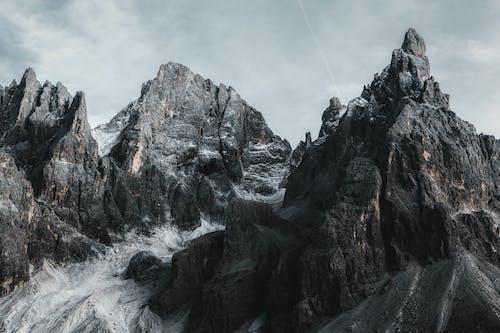 Imagine de stoc gratuită din apogeu, Dolomiți, formațiuni stâncoase, geologice