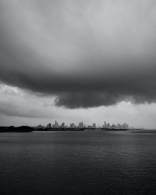 Free stock photo of moody sky, panama, panama city