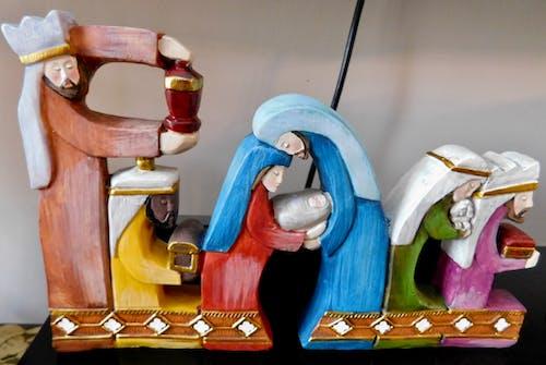 Gratis stockfoto met kerstbeeldjes