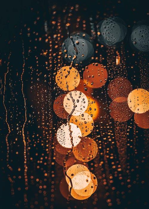 Základová fotografie zdarma na téma bokeh, déšť, dešťové kapky