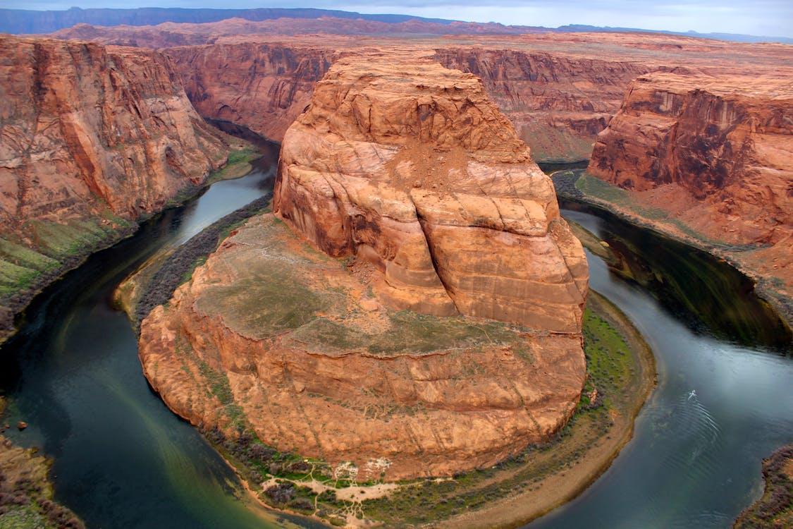 bergformasjon, canyon, dagslys