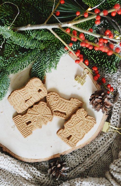 Kostenloses Stock Foto zu lebkuchen kekse, spekulatius, weihnachten