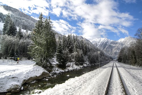 Бесплатное стоковое фото с Австрия, Альпы, голубое небо, гора