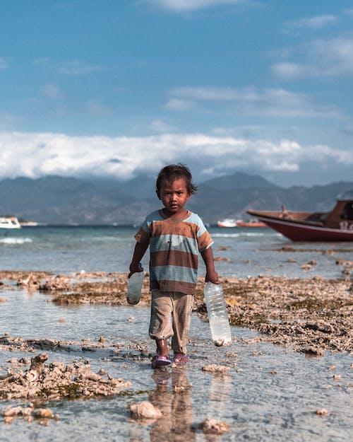 Бесплатное стоковое фото с Бали, индонезия, ломбок, мальчик