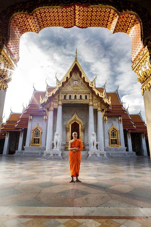 Ingyenes stockfotó Bangkok, buddhista templom, építészet témában