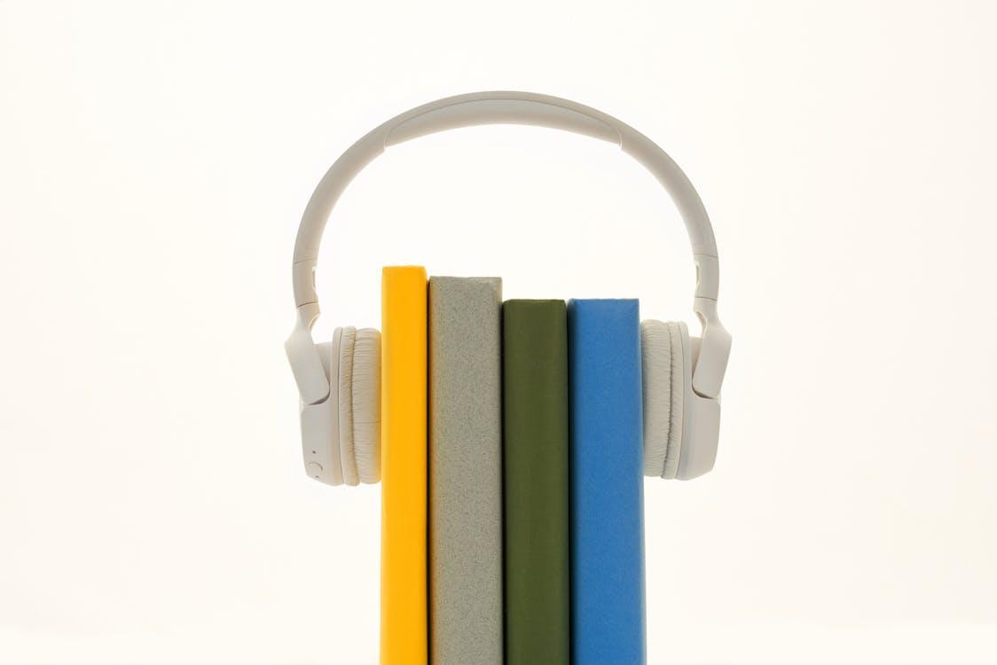 Books Between Headphones