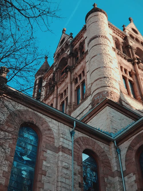Free stock photo of architecture, blue sky, church, gothic