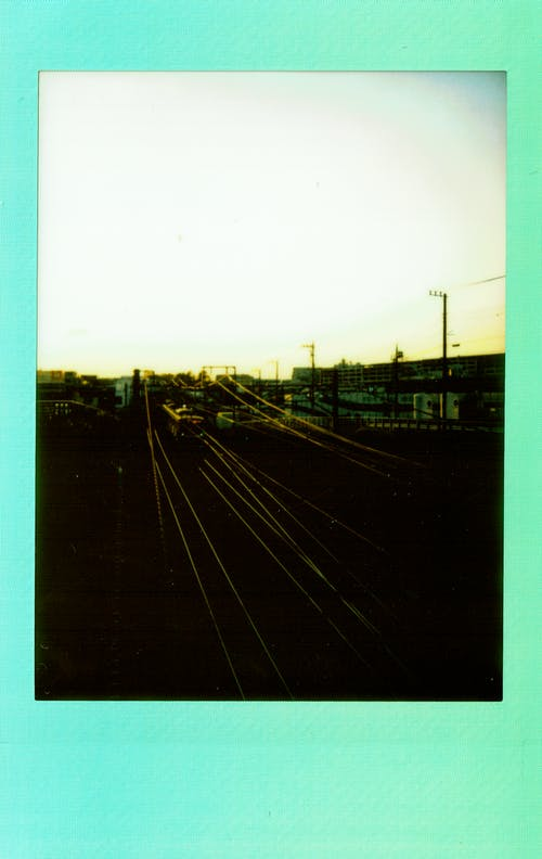 Classic Photo Of A Railway