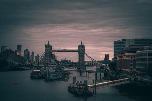 다리, 런던, 런던 거리의 무료 스톡 사진