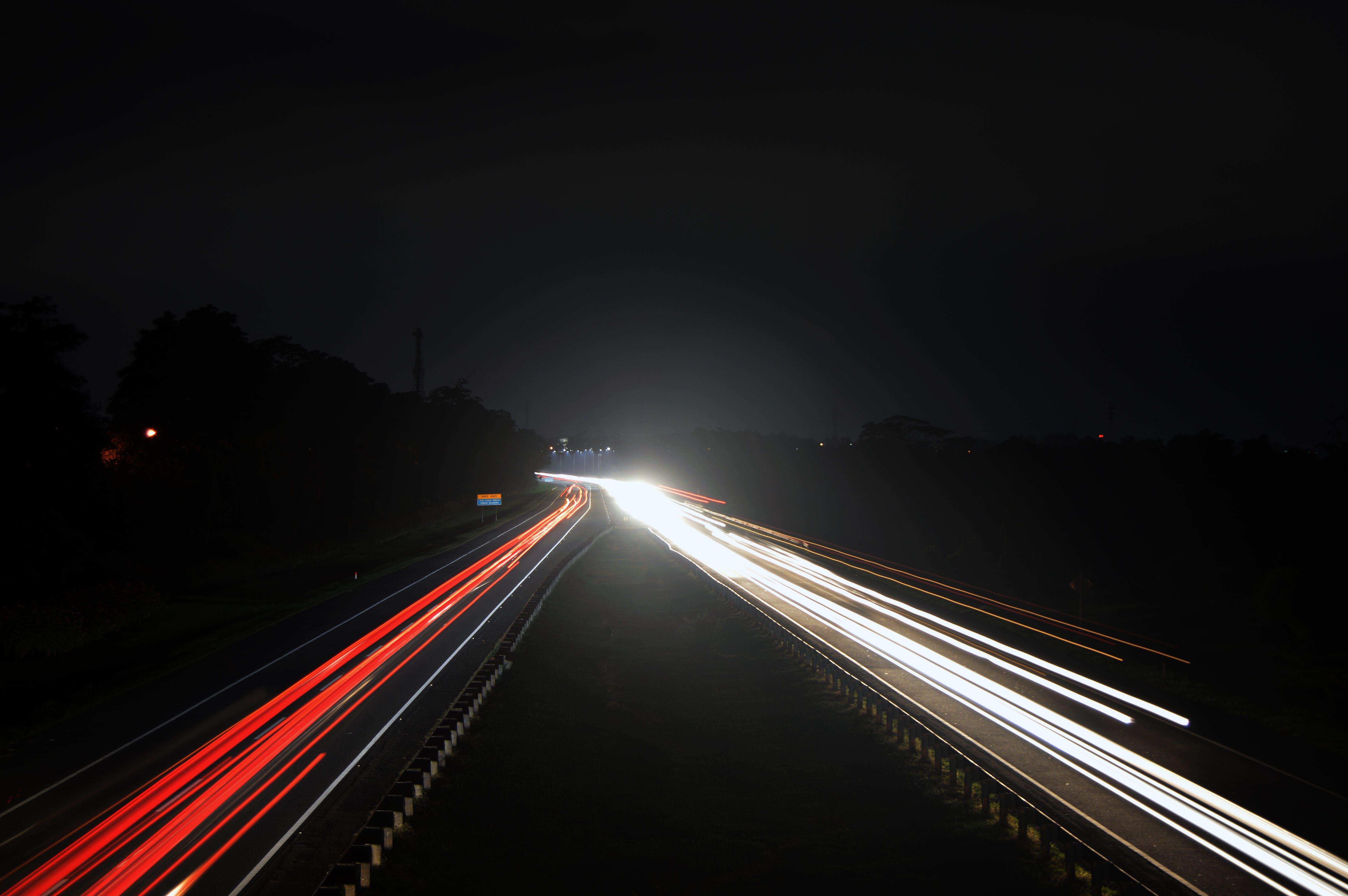 blur, dark, evening