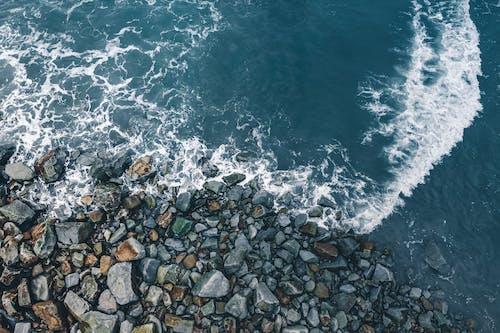 Darmowe zdjęcie z galerii z fale, lotniczy, morze, ocean