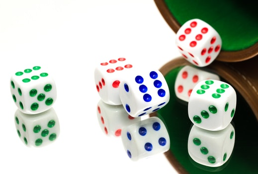 Free stock photo of game, dice, gamble