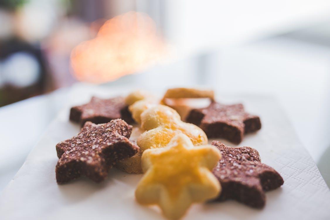 Základová fotografie zdarma na téma cookies, cukr, hvězdy