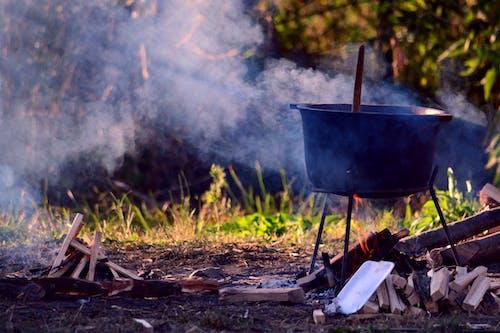 Kostnadsfri bild av brand, cookfire, kastrull, kittel