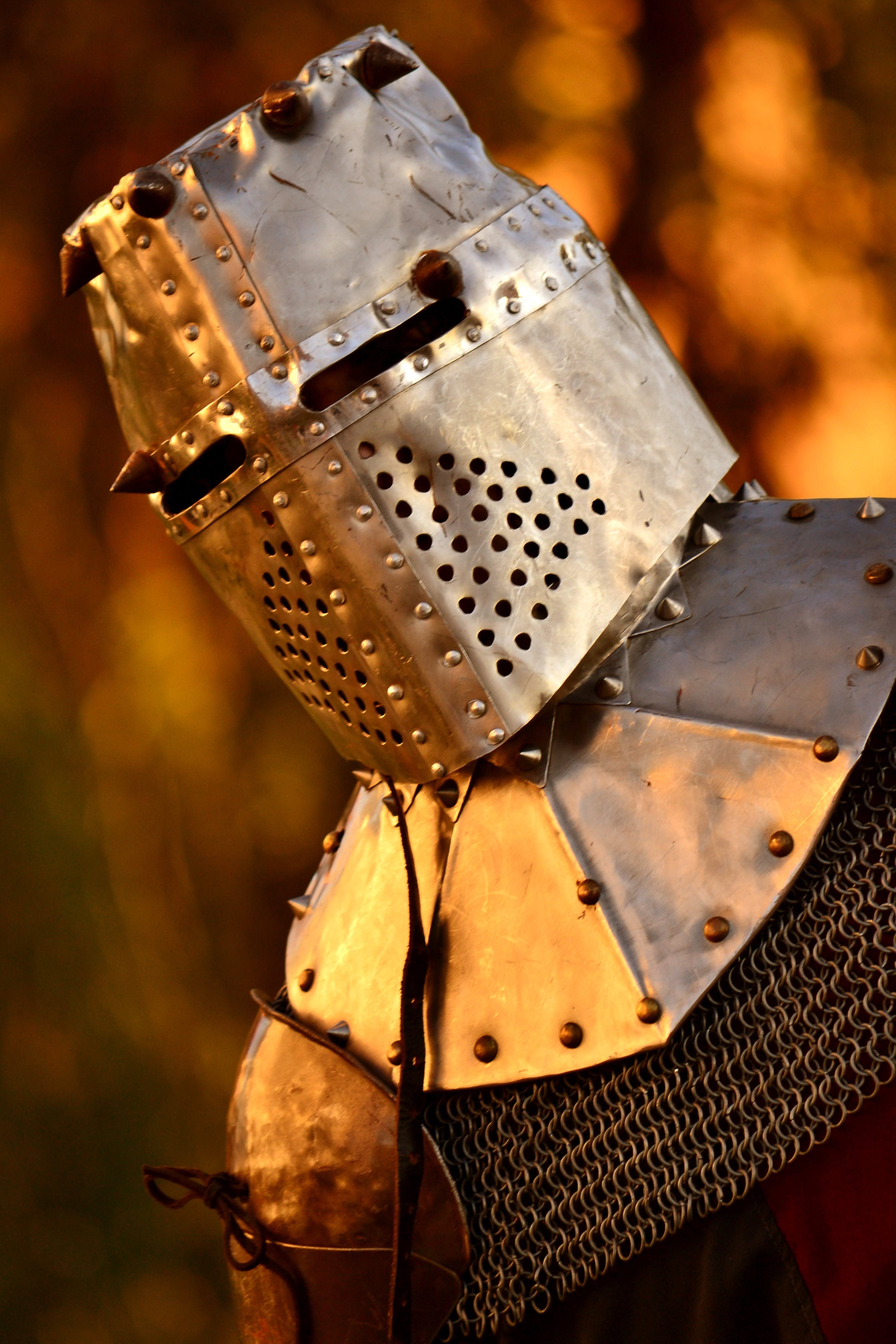 Free stock photo of armor, armour, battle, chainmail