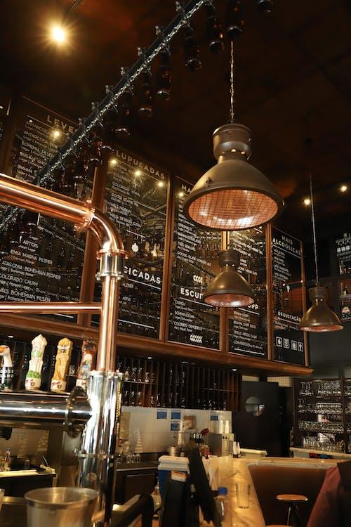 內部, 功能表板, 原本, 咖啡廳 的 免費圖庫相片