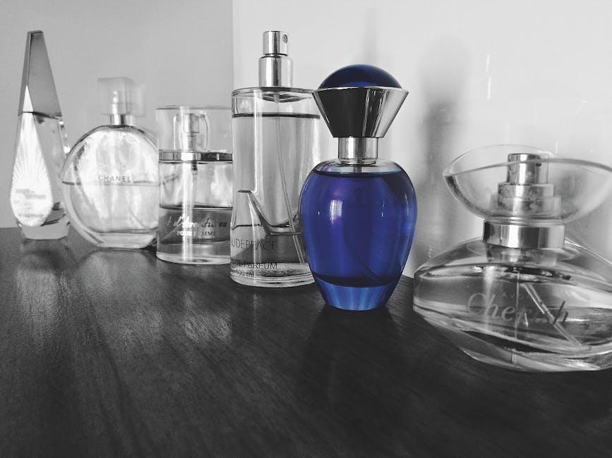 black-and-white, blue, bottles
