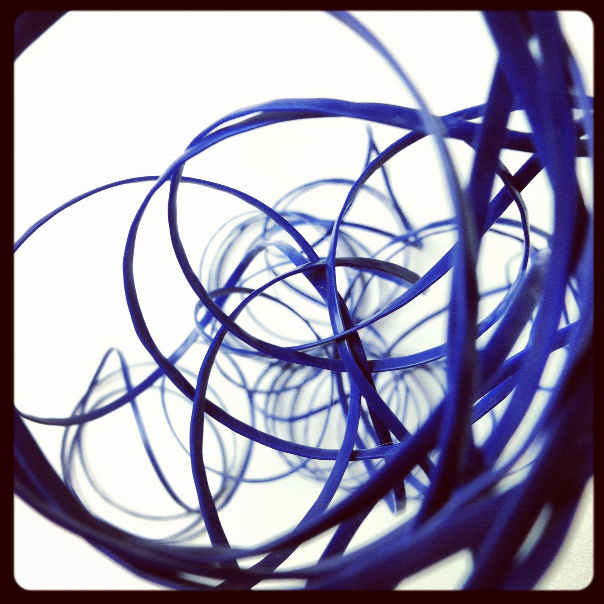 String Digital Wallpaper