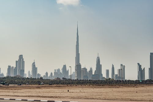 Free stock photo of burj khalifa, Dubai Sky Line