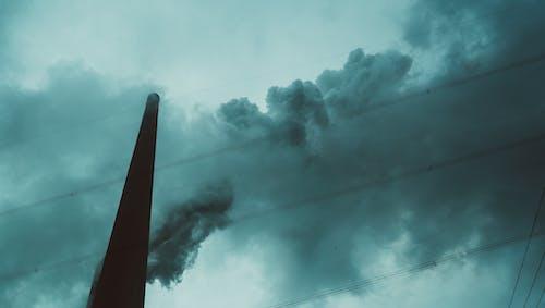 Photos gratuites de cieux gris, nuages, nuageux, photo en contre-plongée