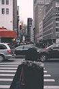 stadt, autos, kreuzung