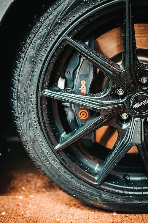Black Multi-spoke Auto Wheel