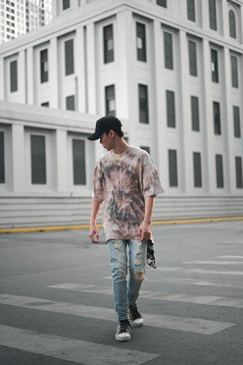 Ingyenes stockfotó divat, Férfi, gyalogátkelő, gyalogátkelőhely témában