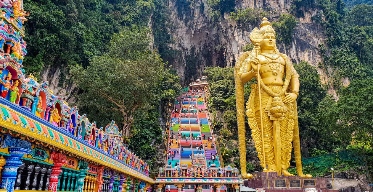 Free stock photo of Batu caves, hindu, Malaysia