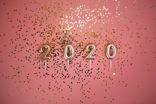 Бесплатное стоковое фото с 2020, вечеринка, год, декор