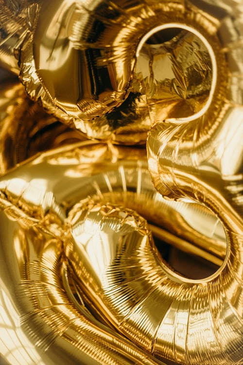 Gold-colored Balloons