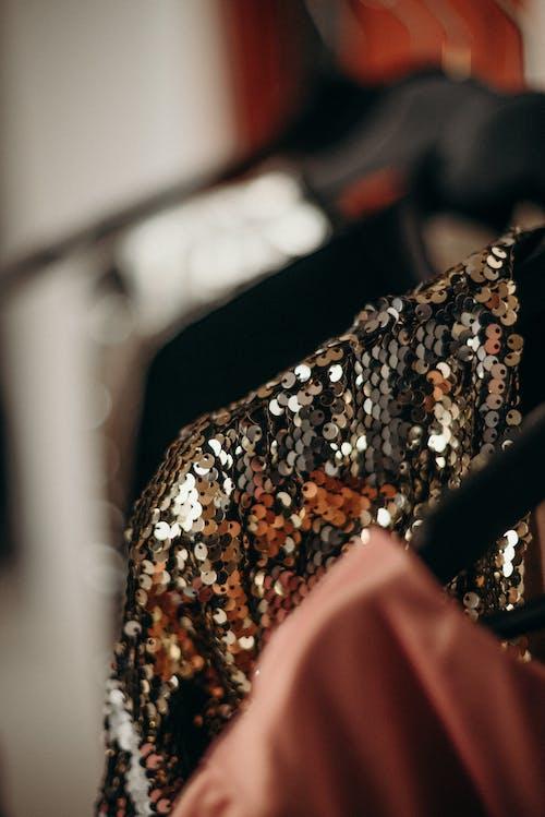 Kostnadsfri bild av kläder, mode, oskärpa, paljetter