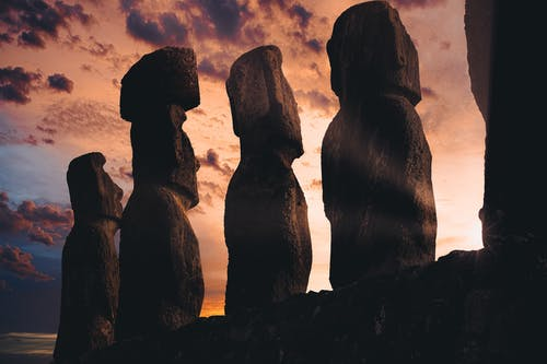 和平的, 天性, 寧靜, 岩層 的 免费素材照片