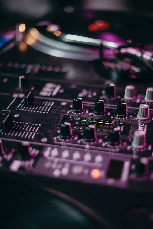 Shallow Focus Photography of Dj Controller