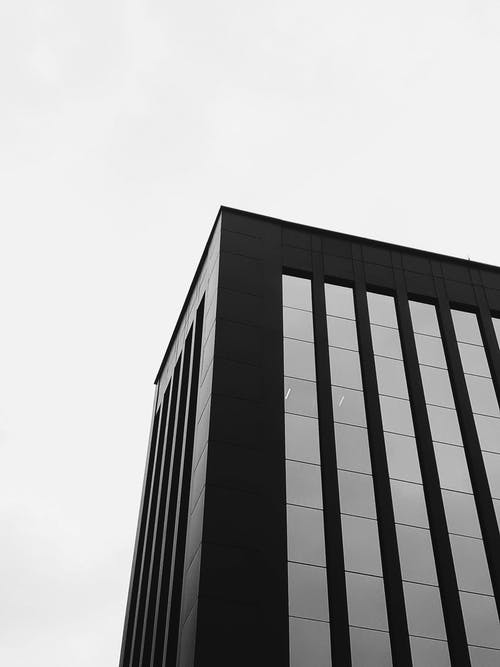 Greyscale Photography of Building