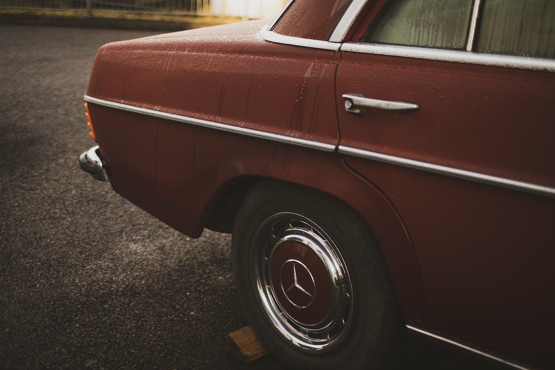 Red Mercedes-benz Car