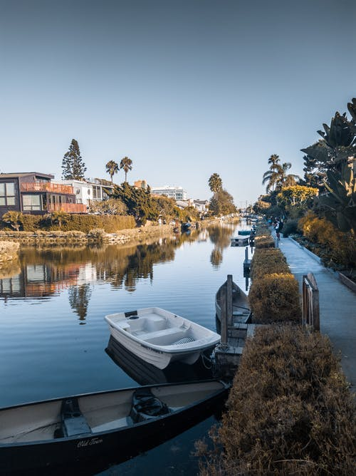 Free stock photo of boat, california, canals