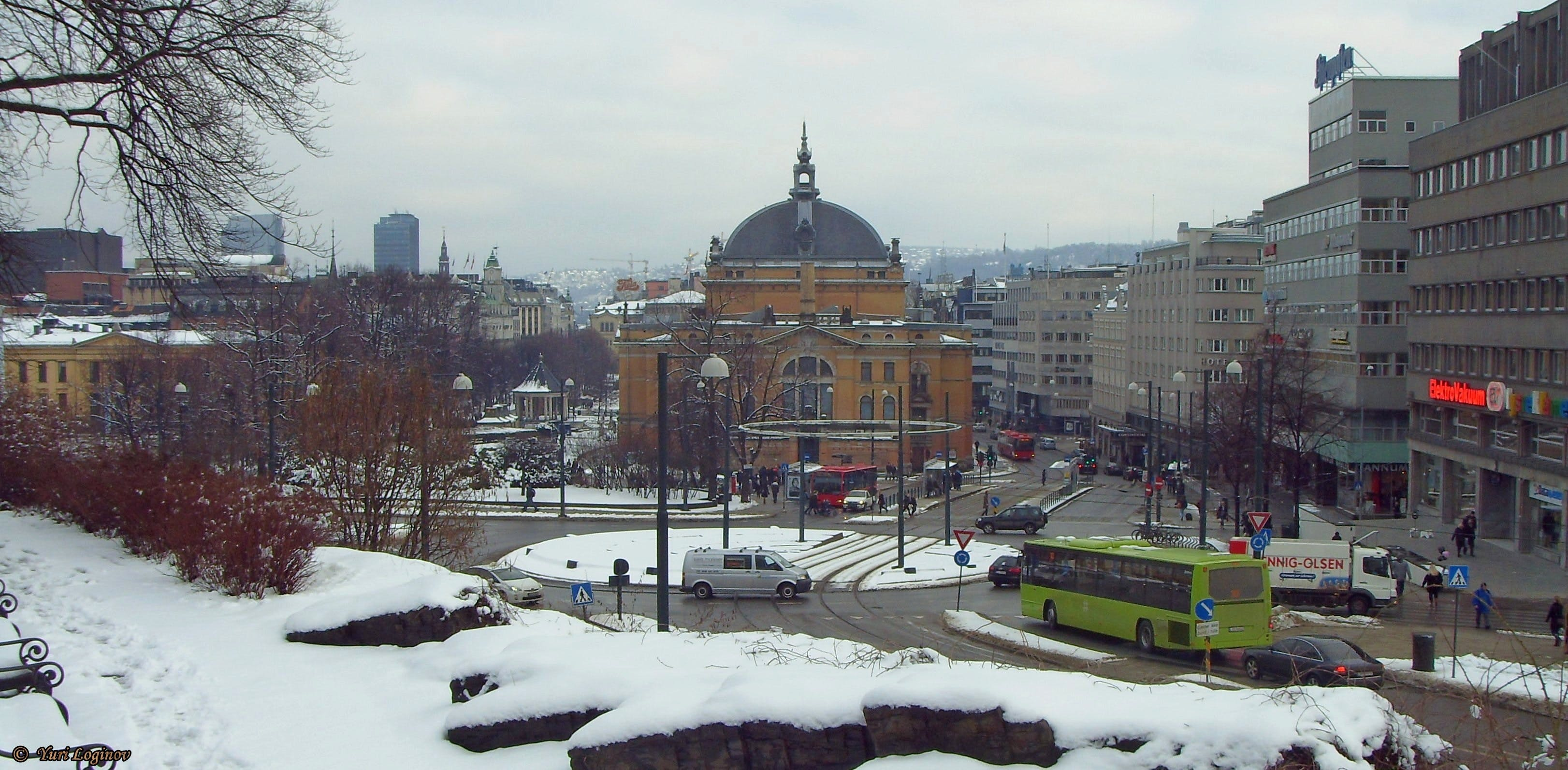 Free stock photo of norway, oslo, national theatre, norge