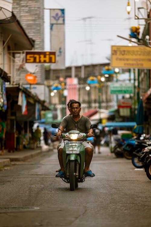 Immagine gratuita di asia, Bangkok, ciclista, città