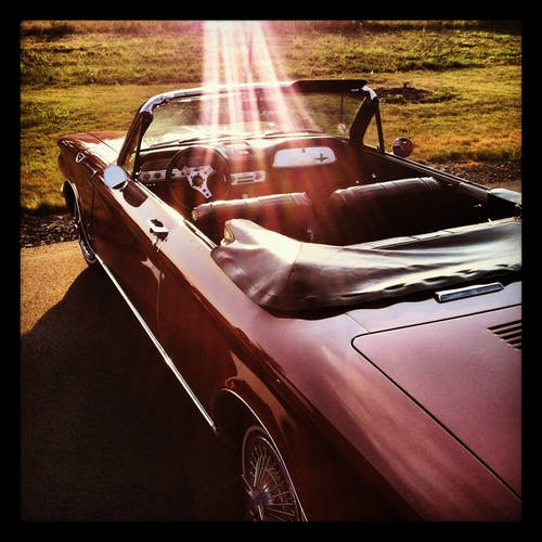 Gratis stockfoto met auto, cabrio, zonnig