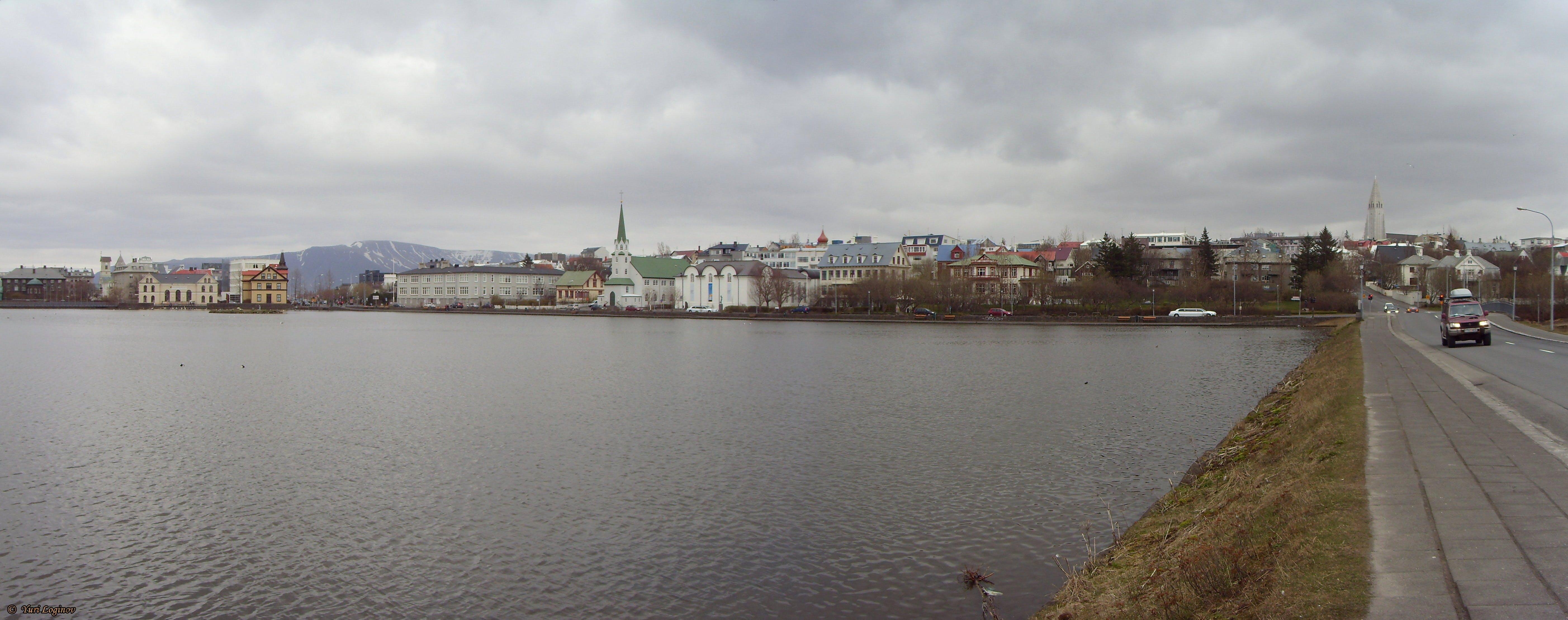 Free stock photo of iceland, island, reykjavik, Tjörnin