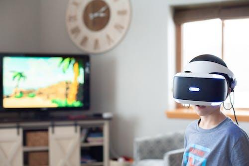 Kostnadsfri bild av användarupplevelse, barn, förstärkt verklighet