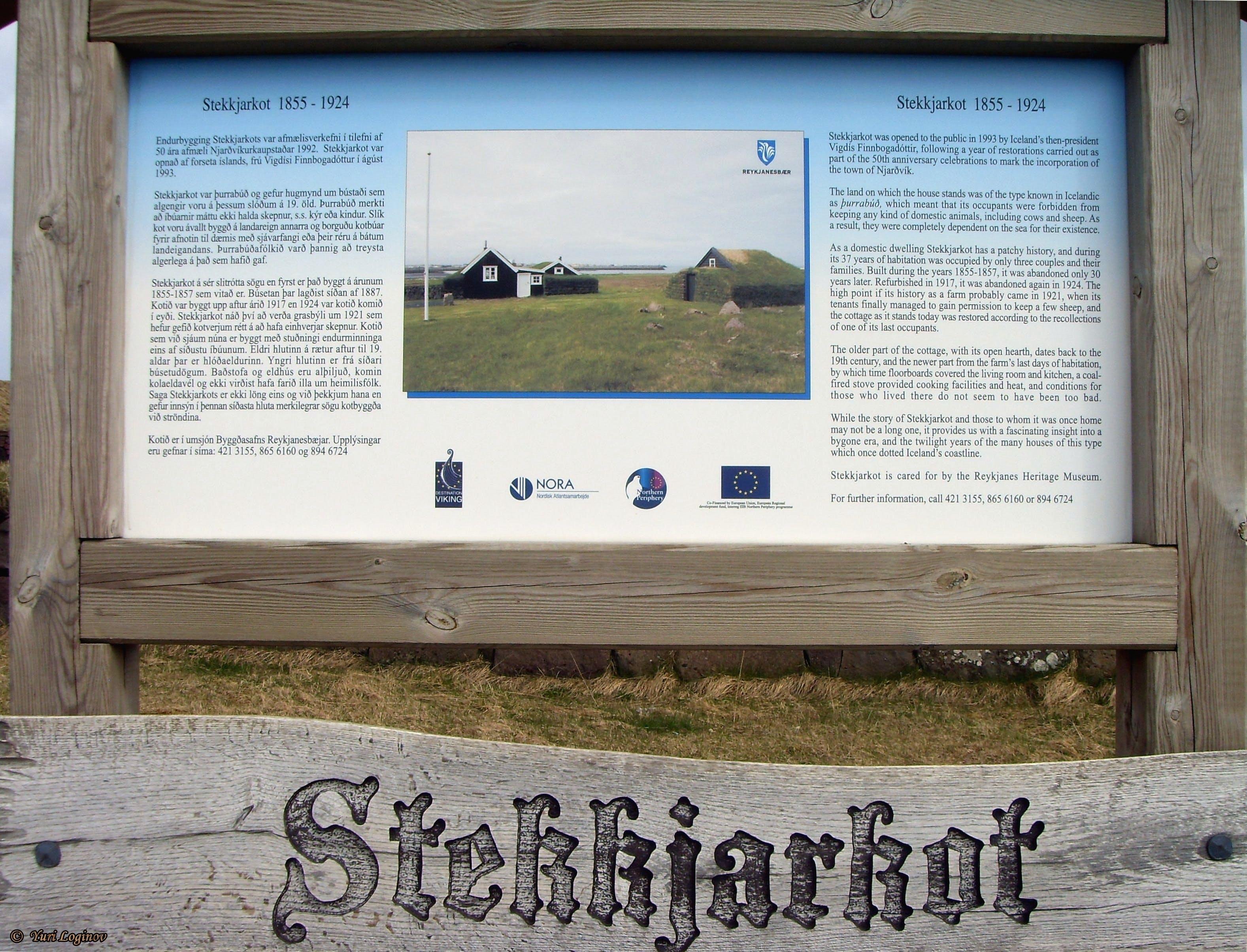 Free stock photo of iceland, island, Stekkjarkot