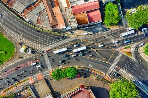 インドネシア, シティ, ダウンタウン, トラフィックの無料の写真素材