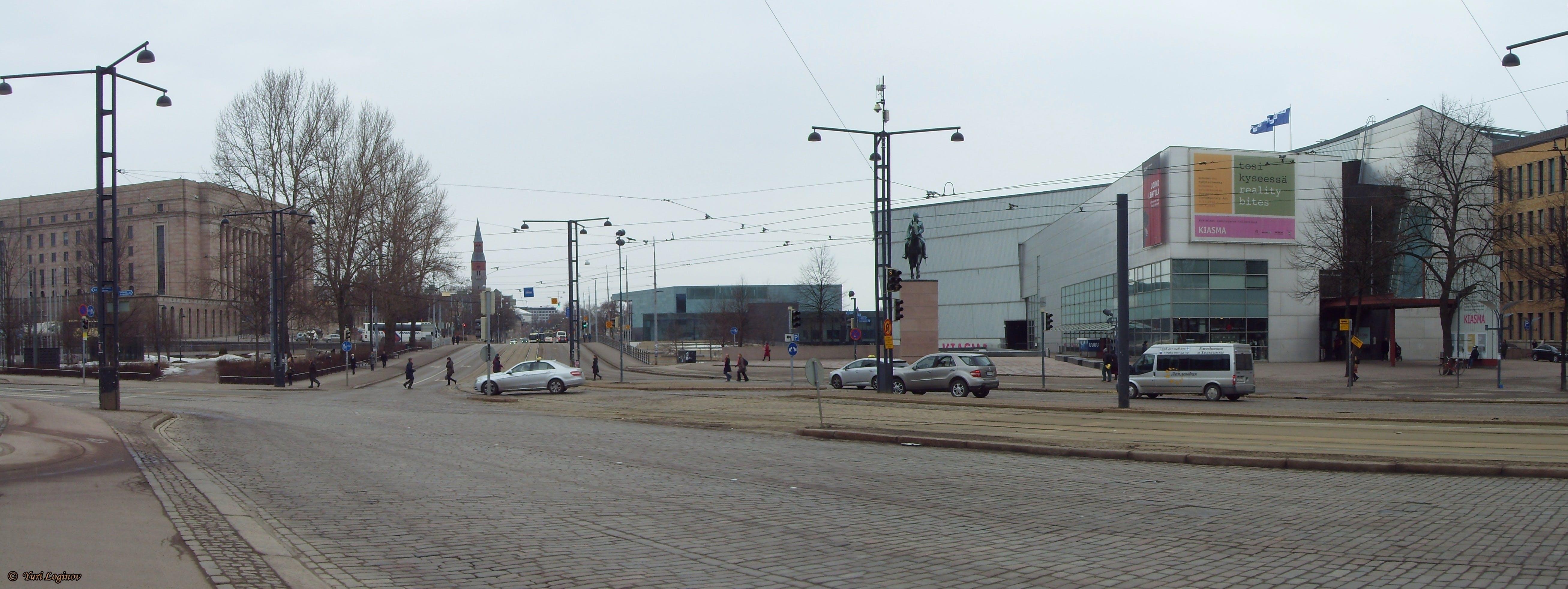 Free stock photo of Finland, Helsinki, Suomi, Mannerheimintie